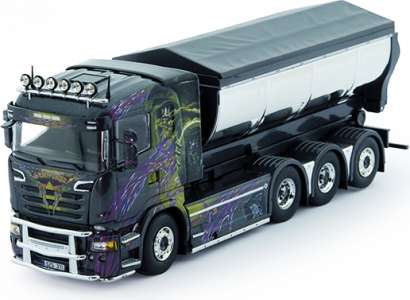 R-serie Motorwagen mit Hakenarm Container
