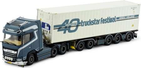 XF Euro 6 Comfort Cab  mit Containerauflieger und 40 Fuß Container Truckstar Festival 2020