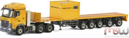Arocs MP4 StreamSpace  Ballast Trailer 5achs + 10 FT Container