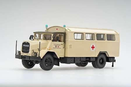 630 L 2 A  5-Tonner  BW Koffer Deutsches Rotes Kreuz mit Kofferaufbau
