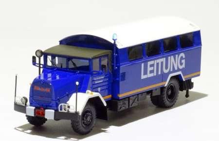 630 L 2 A  5-Tonner  BW Koffer THW Einsatzleitung mit Kofferaufbau