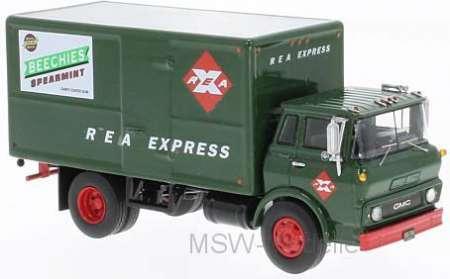 Steel Tilt Cab Box Truck, 1960