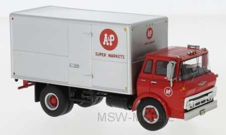 Tilt Cab Box Truck, A&P Super Markets, 1960