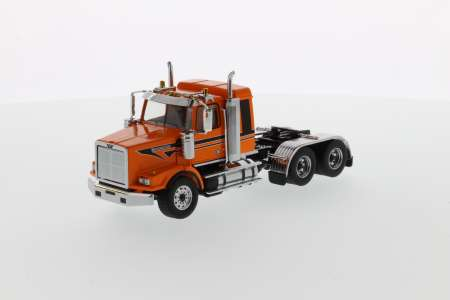 4900 SB Sleeper Tandem Tractor - Metallic-orange black stripes