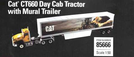 CT660 w/Cat Mural Trailers