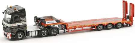 Benz  Arocs 6x4 Euroflex semi mit