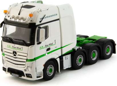 Actros GigaSpace 8x4