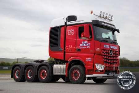 Benz Arocs 8x4 Reid Freight
