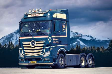 Actros Bigspace 6x2