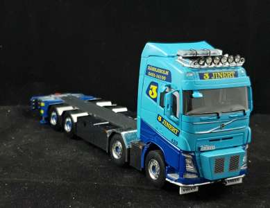 FH4 Globetrotter Riged Flatbed Truck mit Jib