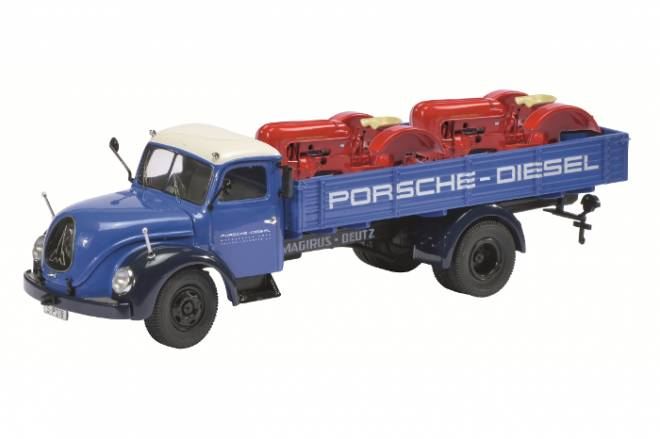 S6500  -Porsche Diesel-  mit 2x Porsche Junior Rumpf