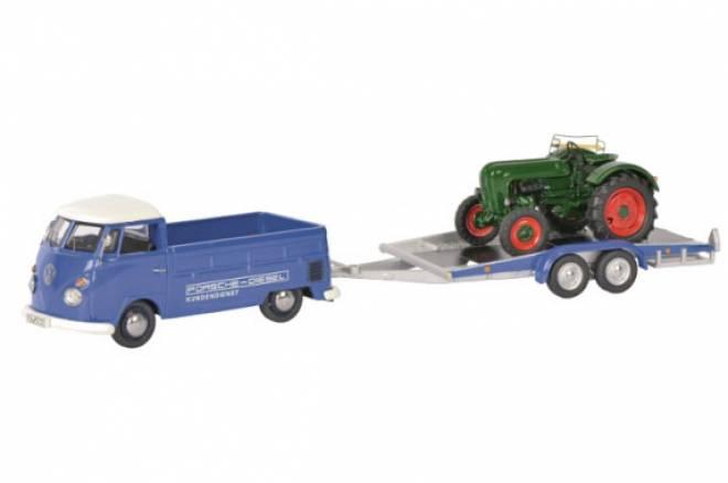 T1c  mit Hänger und Allgaier Traktor