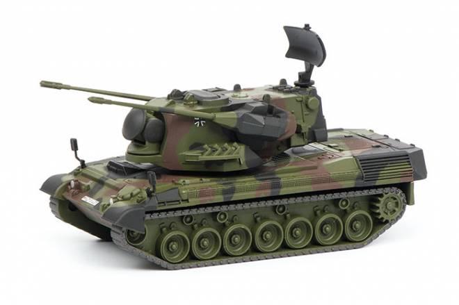 Flakpanzer, flecktarn  Bundeswehr