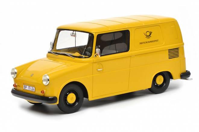 Fridolin  Deutsche Post , gelb