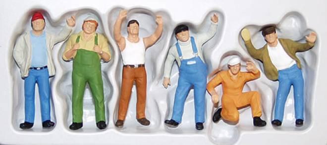 6 Arbeitskräfte