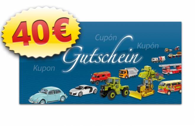 MSW-Gutschein 40 €