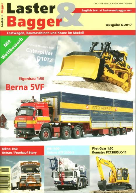 - Lastwagen, Baumaschinen und Krane im Modell