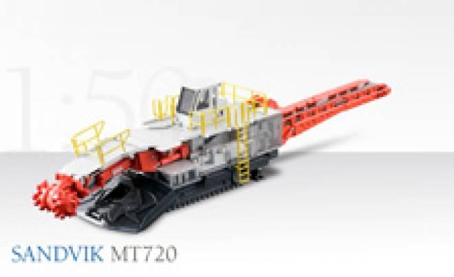 MT720 Teilschnittfräse