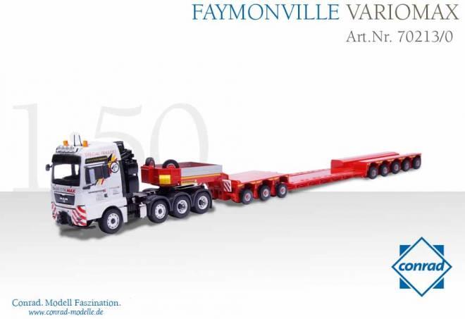 TGX 4achs mit Faymonville Variomax 3+4 achs