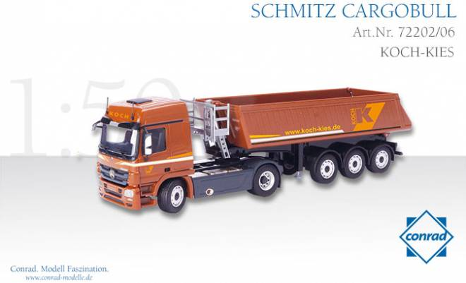 Benz Actros MP03 2achs mit Sattelkipper 3achs Schmitt Cargobull