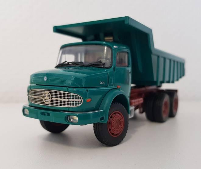 Benz LAK 2624 Rundhauber 3achs mit Steinmulde