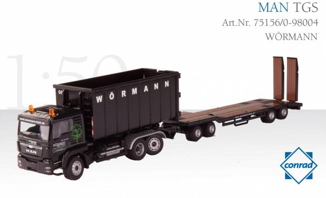TGS 3achs Euro 5 mit Recycling-Mulde