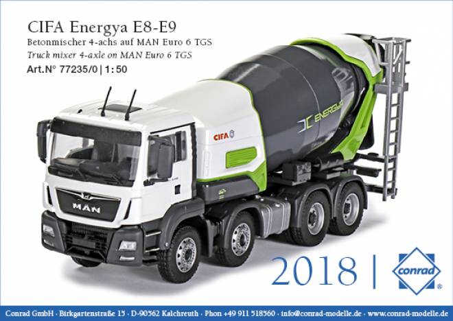 Energy E8-E9  4-achs auf MAN Euro 6 TGS
