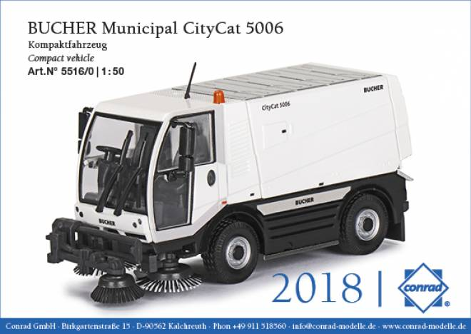 Municipal CityCat 5006 Kompaktfahrzeug