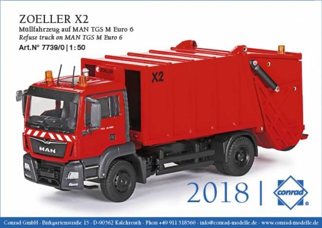 TGS M Euro 6 ZOELLER X2 Müllfahrzeug