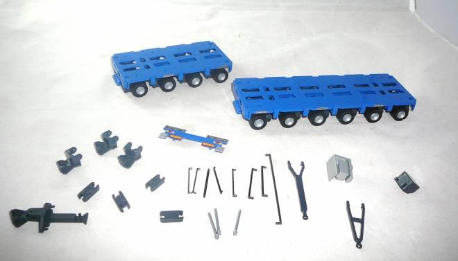 THP/SLP4 und THP/SL6 Anhänger und Parallekombination Goldhofer
