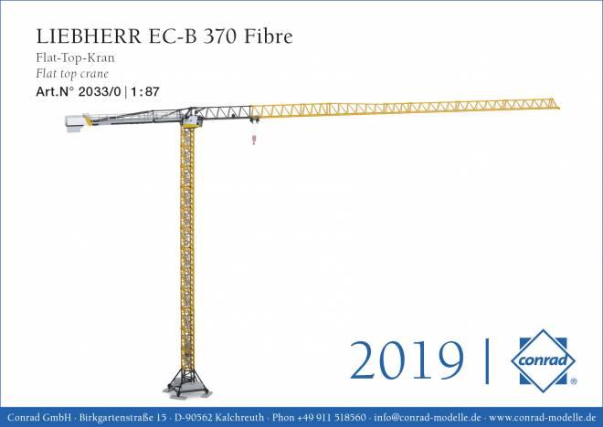 EC-B 370 Fibre Flat-Top-Kran