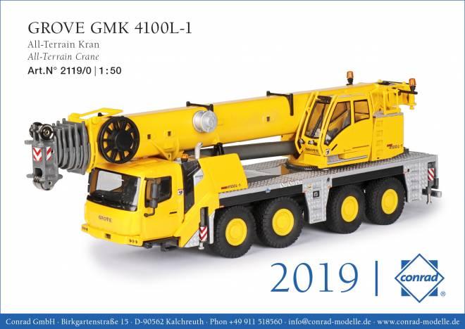 GMK 4100L-1 All-Terrain-Kran