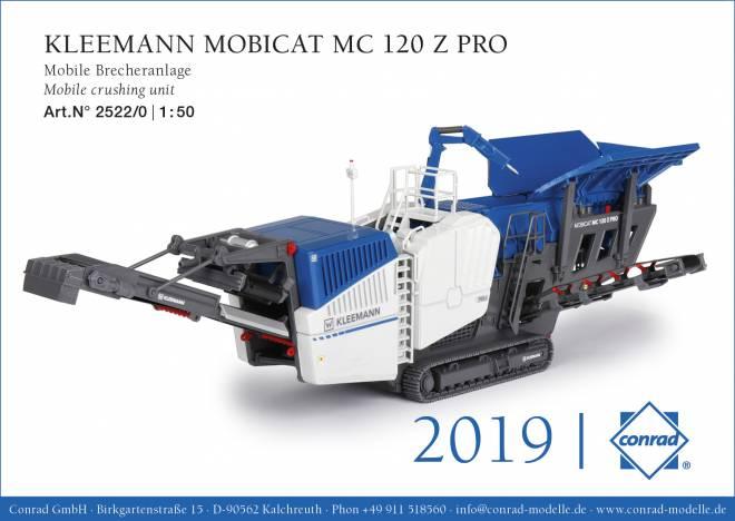 MOBICAT MC 120 Z PRO Mobile Brecheranlage