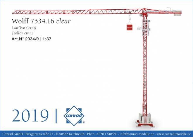 7534 clear Laufkatzkran TVÜ