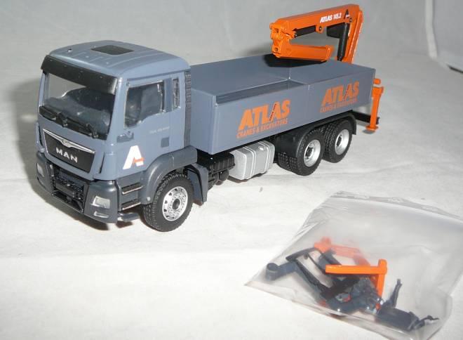TGS M Euro6 6x4 mit Atlas Ladekran Typ 145.2