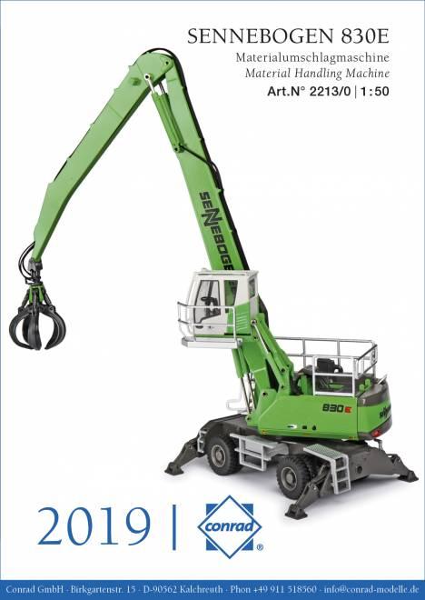 830 E     Materialumschlagmaschine