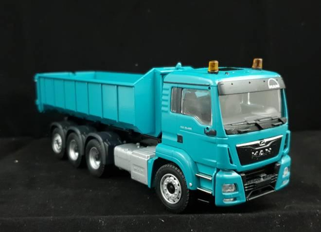 TGS M 35.480 Meiller Abrollkipper