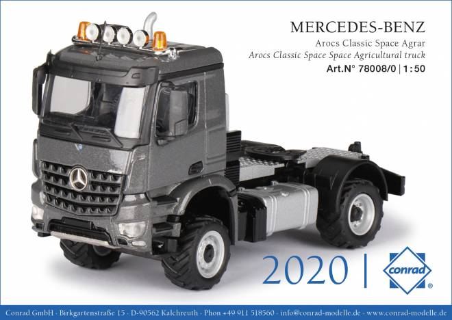 Arocs Space Agrar Truck