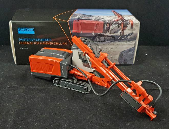 DP 1500  Panterra Surface Tophammer Drill Rig