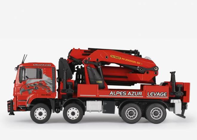 TGS Euro 6 PALFINGER PK 200002L SH Ladekran