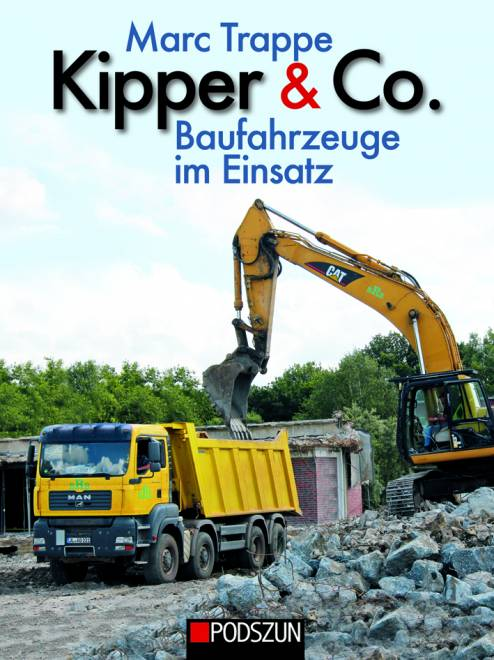 Baufahrzeuge im Einsatz von Marc Trappe