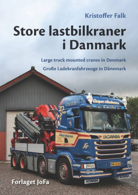 Book Store lastbilkraner i Danmark Language; Danish, German and English