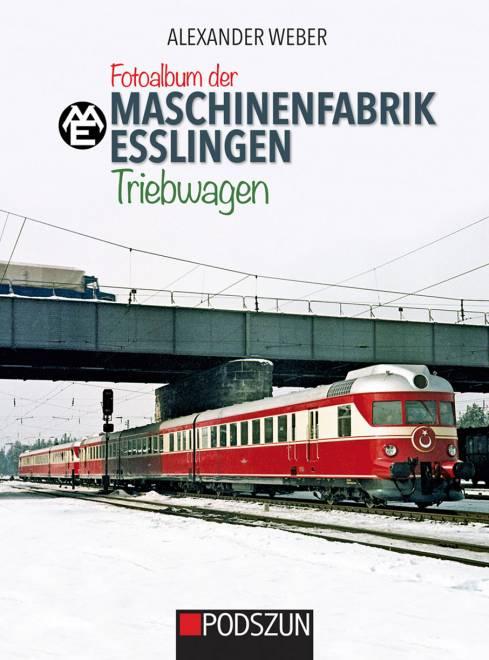 Fotoalbum der Maschinenfabrik Esslingen : Triebwagen