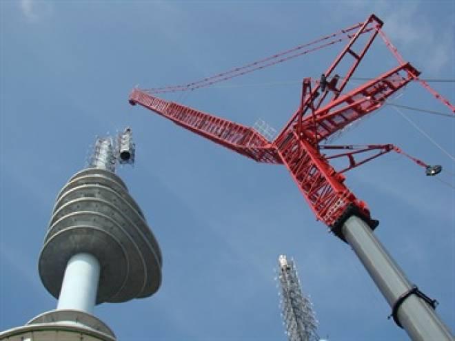 Gitterspitze 54 Meter + Verlängerung 36 m Set für Autokran LTM 11200-9.1