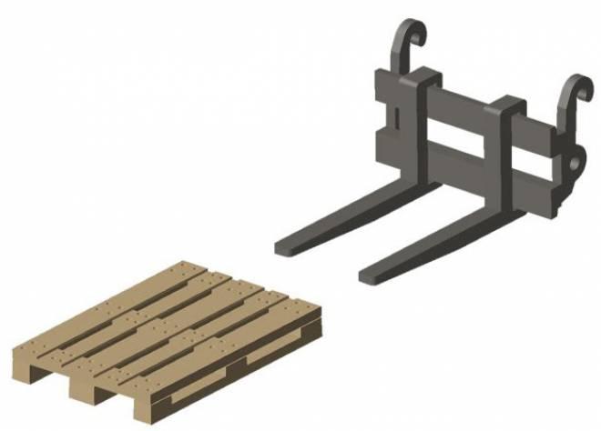 Accessories,Paletten-Gabel für Atlas Weycor Ar65e / 75eT, inkl. Palette