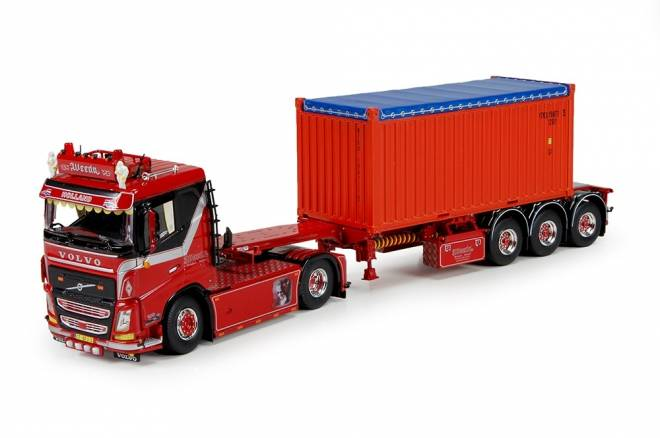 FH04 mit 20ft open top container -