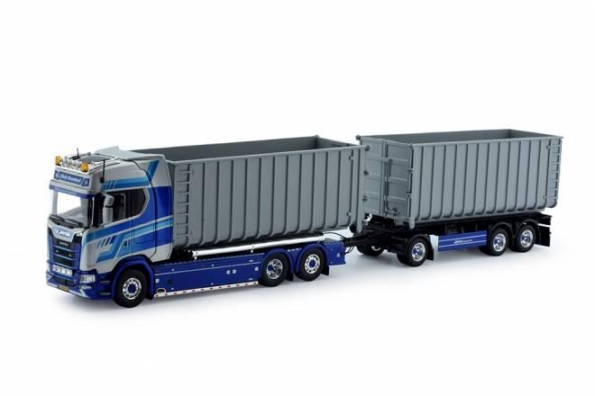 S-serie S730 Highline Motorwagen mit Hakenarm Container + anhanger