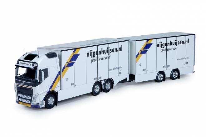 FH04 Motorwagen mit 2 Achse anhanger