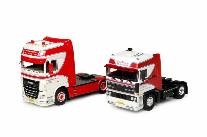 DAF XF Euro 6 Super Space Cab + DAF 3600 Space Cab - SET by Tekno