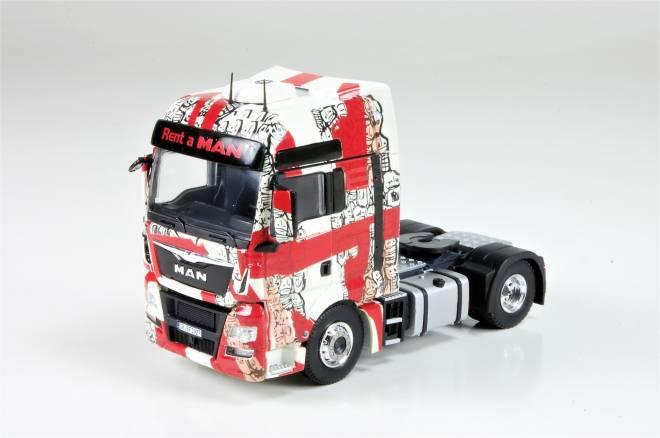 TGX XXL 18.440 Sattelzugmaschine -Tattoo Truck-